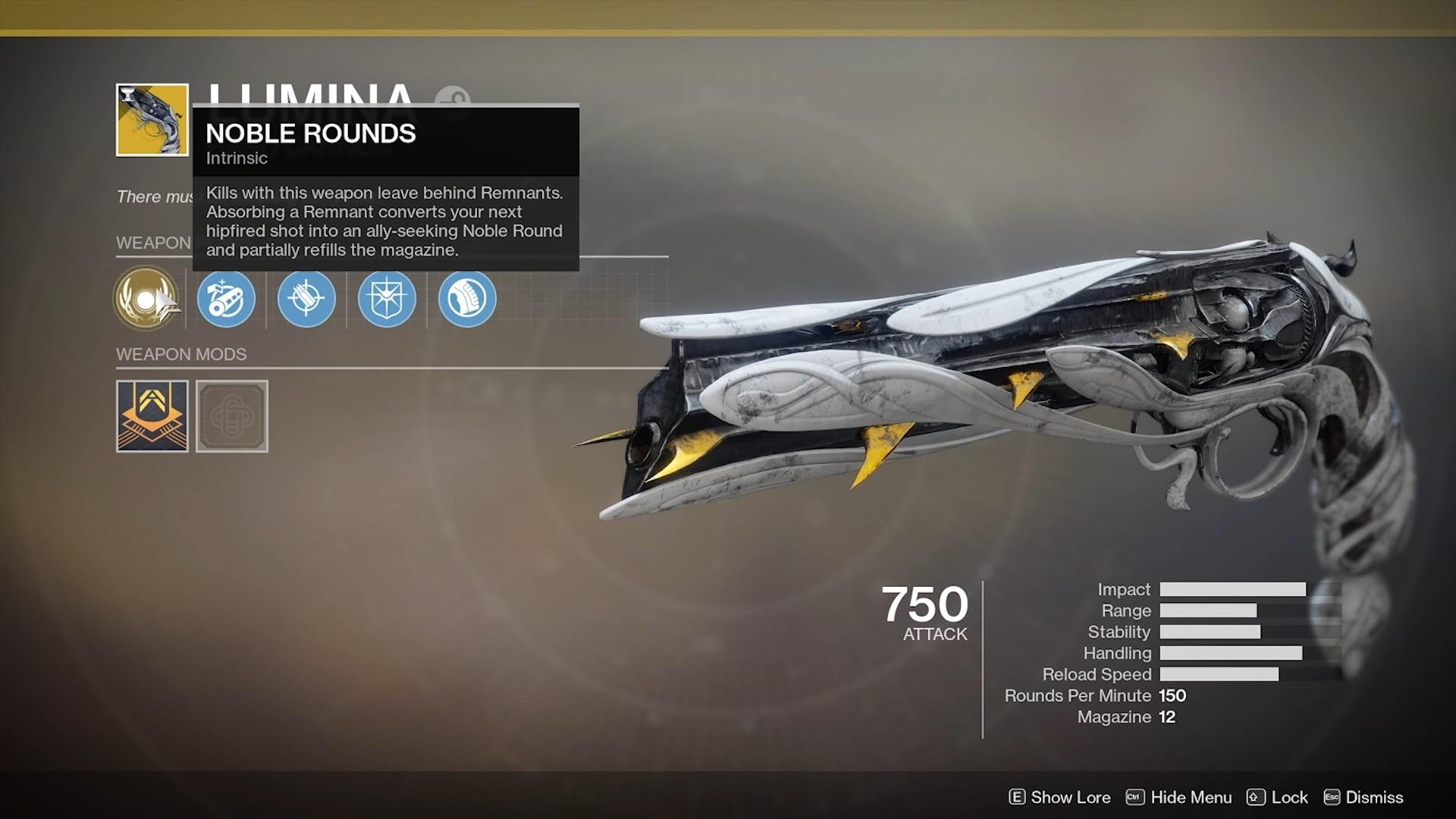Is Lumina The Best Exotic Hand Cannon