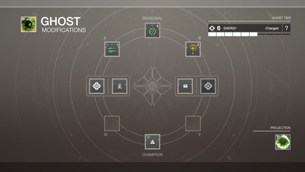 Destiny 2 Ghost 2 0 Interface Created By Guardian