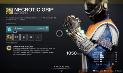 Destiny 2 Necrotic Grip And Thorn Build Is Insane