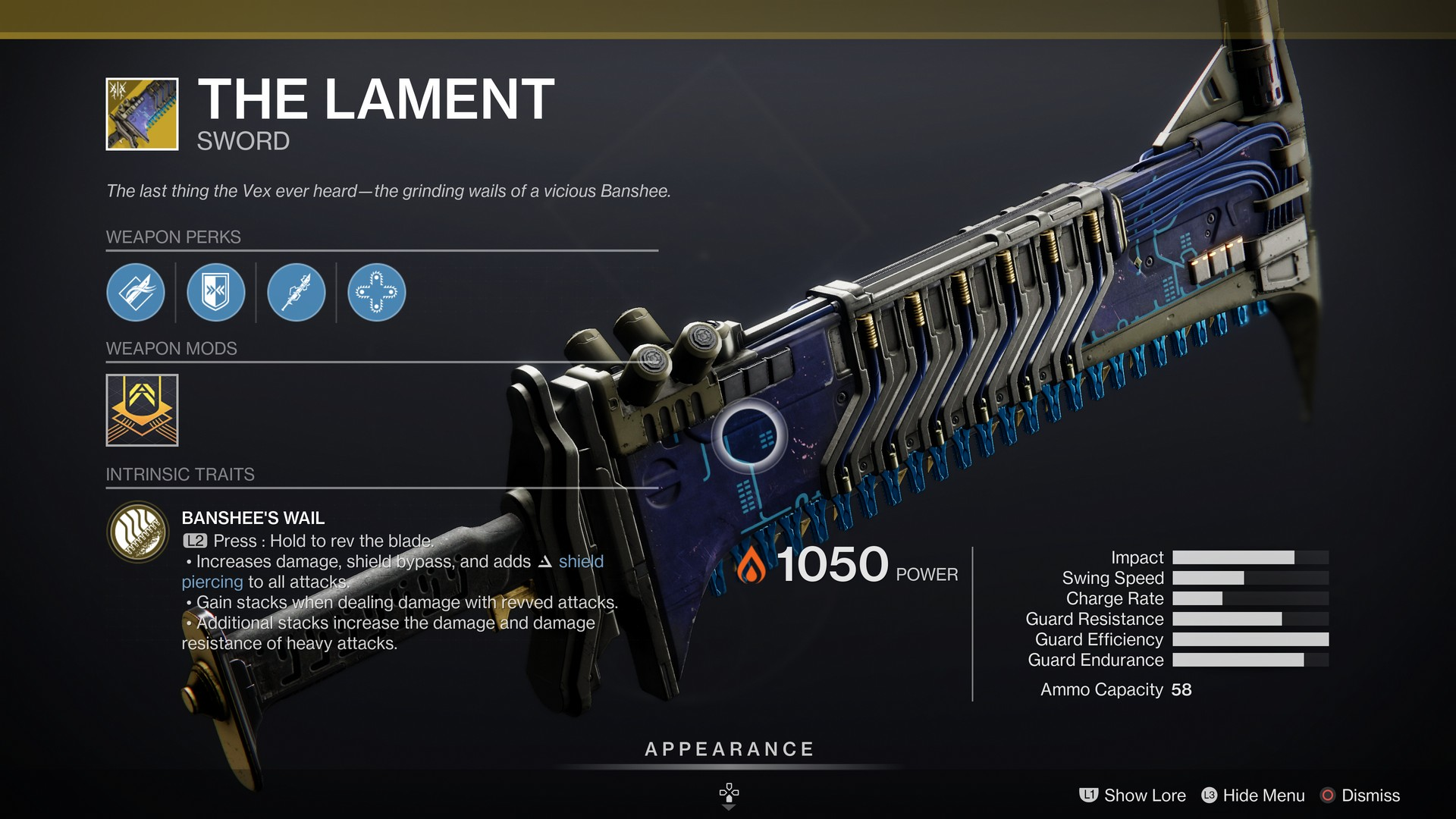Is The Lament The Best Exotic Sword In Destiny 2?
