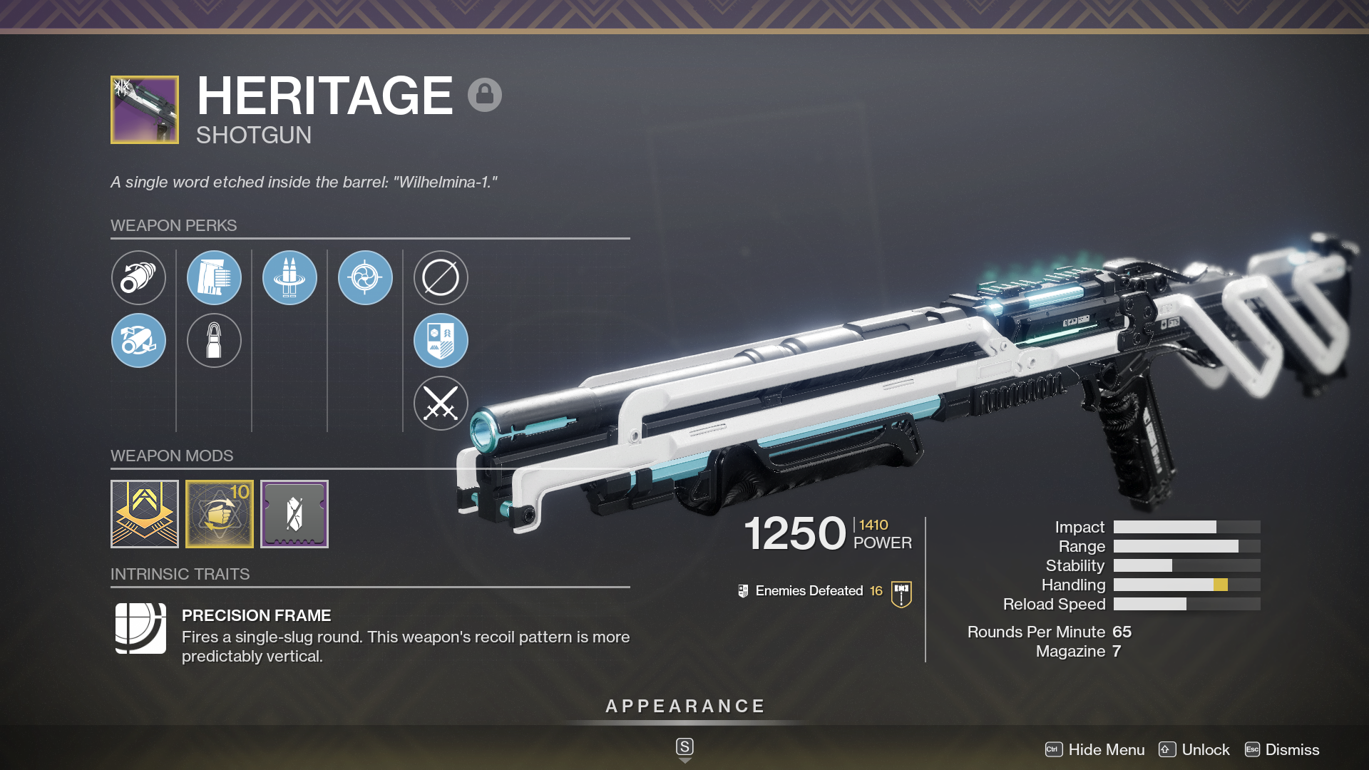 Heritage The Legendary Raid Slug Shotgun