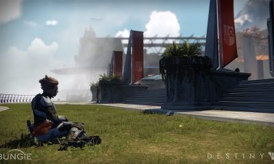Cube Maps And The Tower Being Rebuilt In Destiny 2