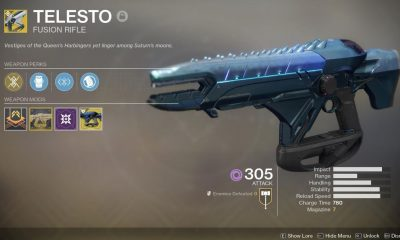 It's 2021 And Telesto Is Broken Once Again In Destiny 2