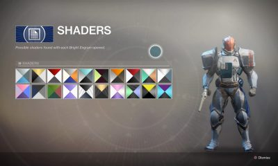 What is the Destiny 2 Shader Revamp?